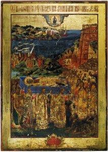 Перенесение мощей Николая Чудотворца из Мир в Барри, 1837 г.