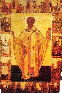 Никола Зарайский, с житием в 14 клеймах, Начало XIV в.